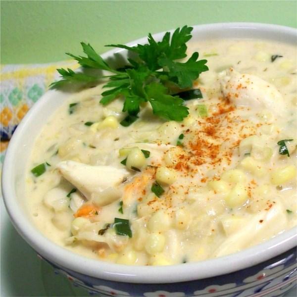 Receita de Sopa de Caranguejo Cajun