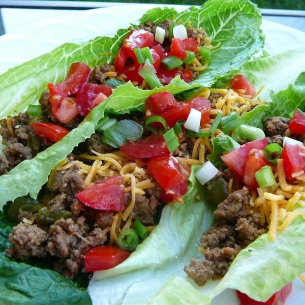 Receita de Tacos de Folha de Alface