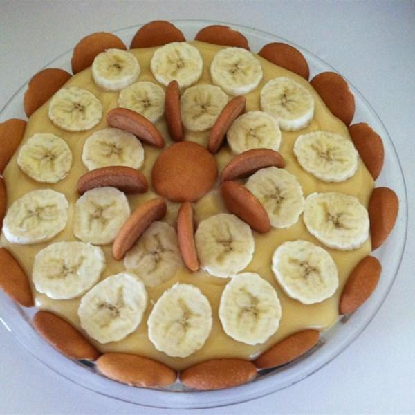 Receita de Pudim de Banana do Kentucky