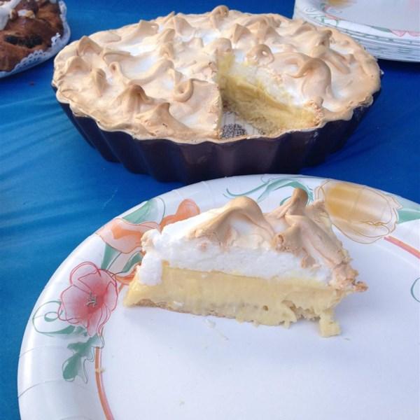 Receita de Torta de Merengue de Limão da minha mãe