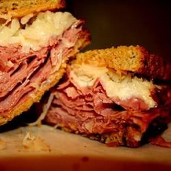 Melhor receita de sanduíche reuben