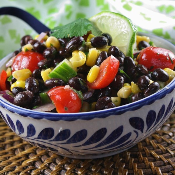 Receita de Salada vegetariana de verão