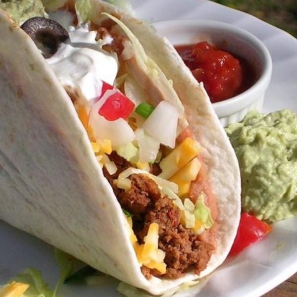 Receita de Tacos de Decker Duplo