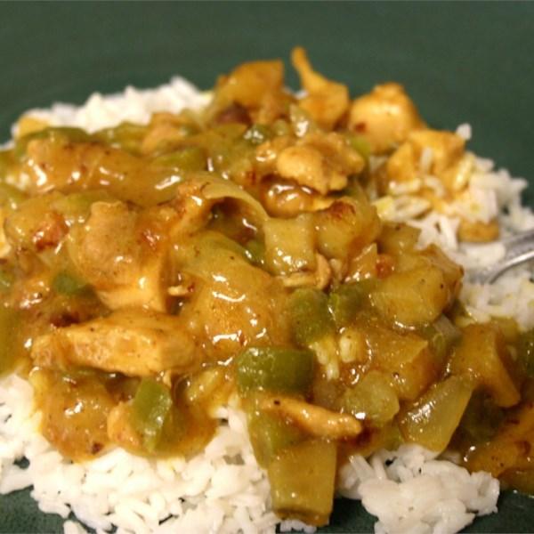 Receita de Frango com Curry à Prova de Pateta