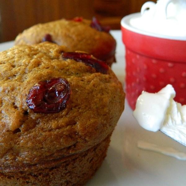 Receita de Muffins de Ação de Graças