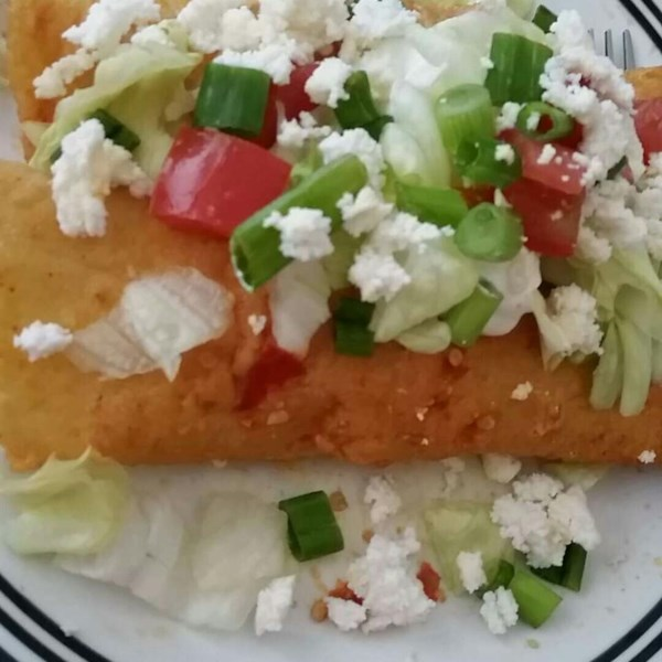 Receita autêntica de Enchiladas mexicanas