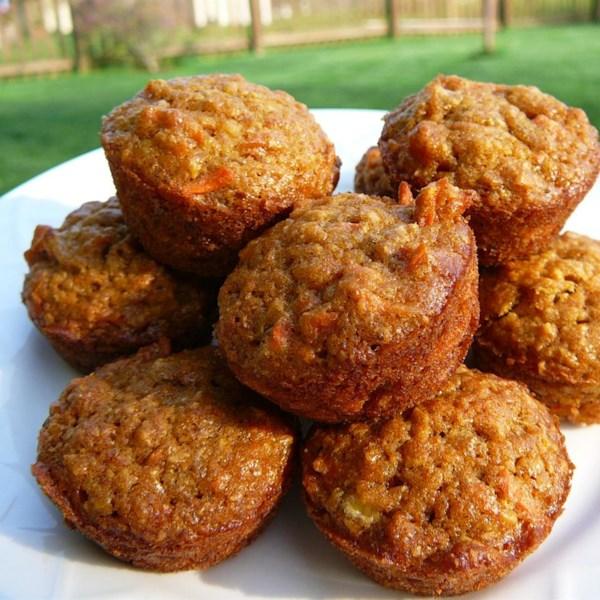 Receita de Muffins infantis