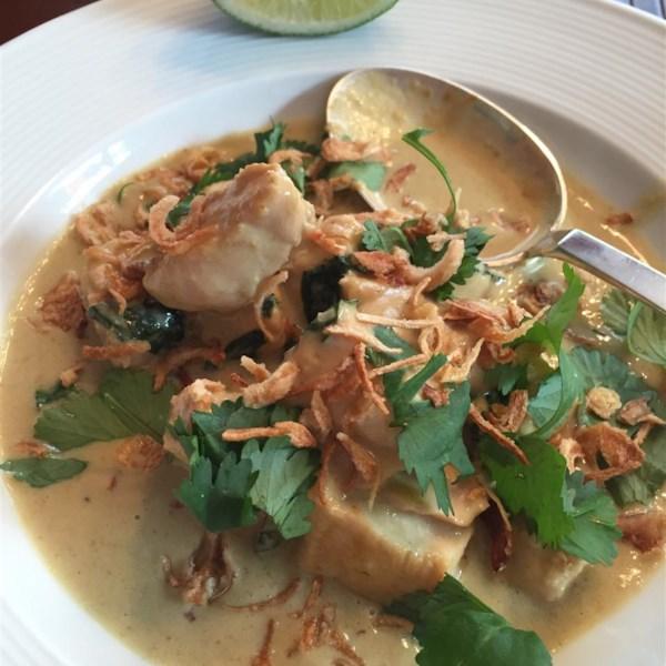 Receita de Frango Com Curry Verde Tailandês