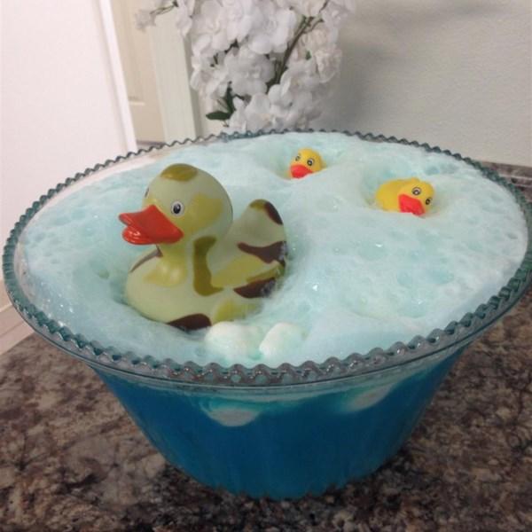 Receita de Ponche Azul Bebê