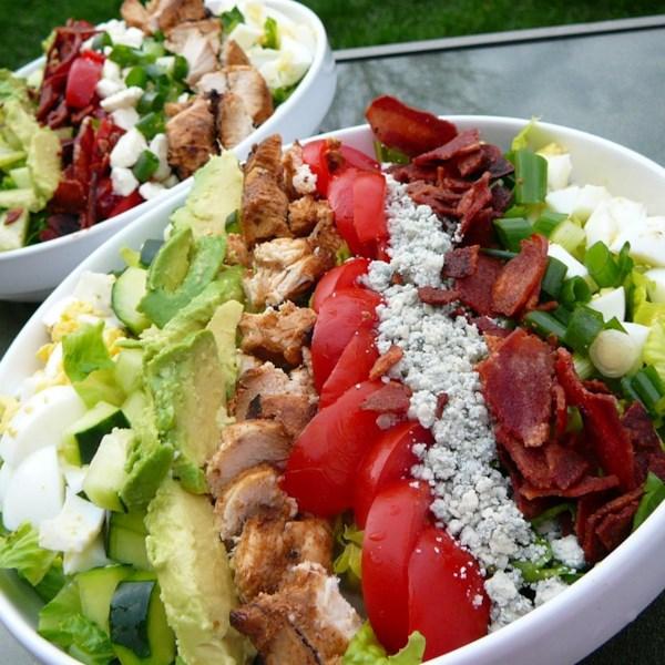 Receita de Salada cobb