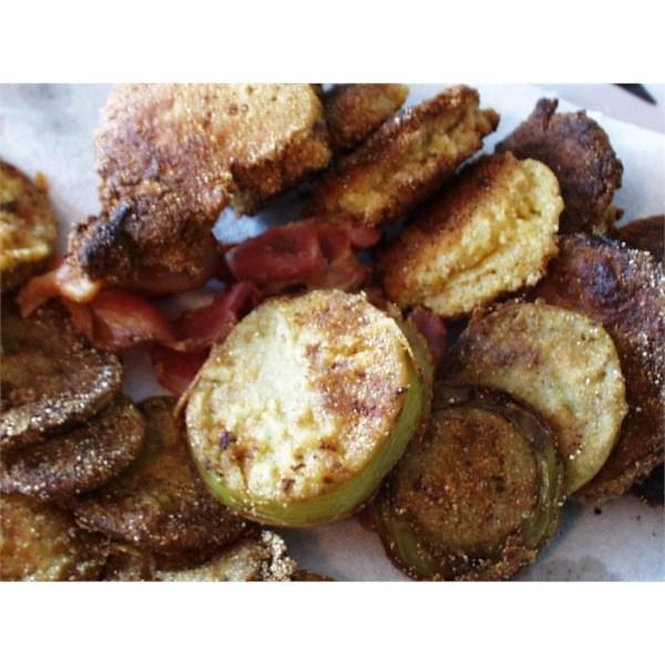 Receita de Tomates Verdes Fritos estilo Kentucky
