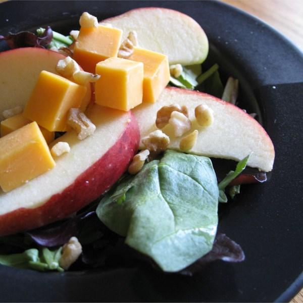 Receita de Espinafre e Salada de Maçã de Jackie