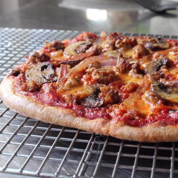 Receita de Massa de Pizza Spelt