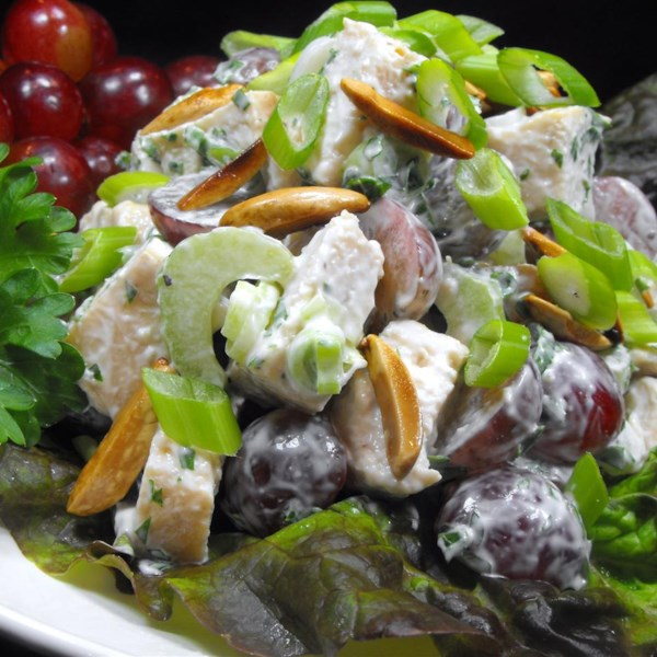 Receita de Salada de Frango de Becky