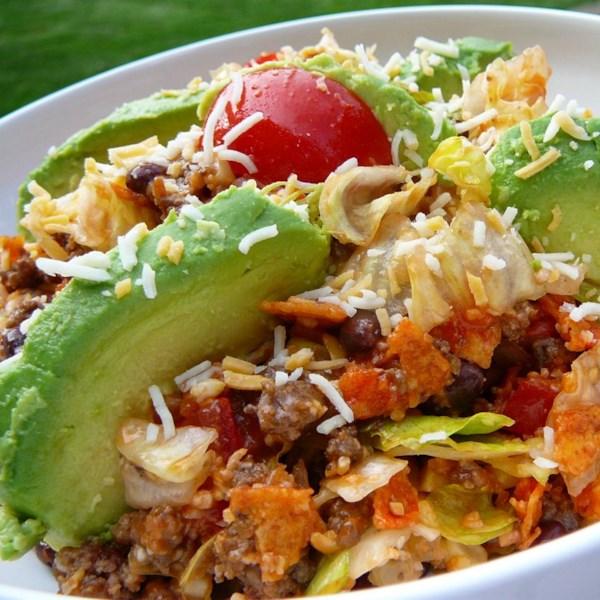 Receita de Salada de Taco picante dorito(R)