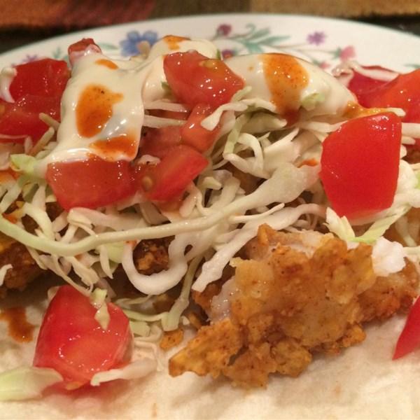 Receita de Tacos de Peixe Crocante