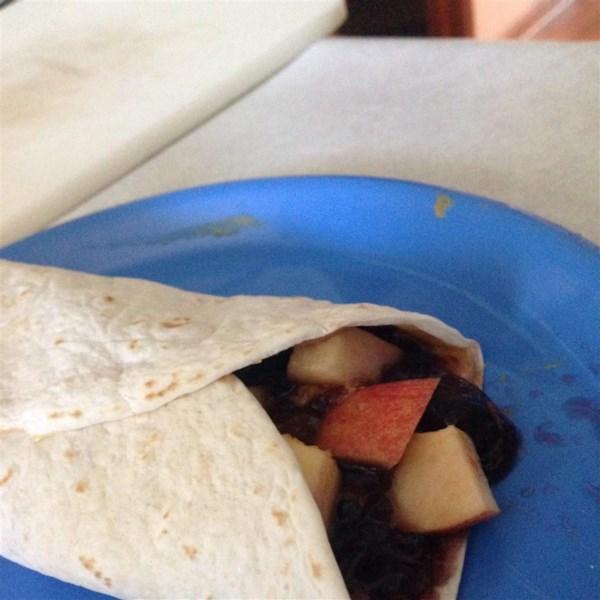 Receita de Burritos de Banana de Merrick