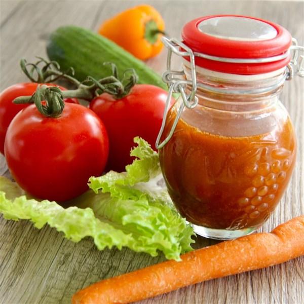Receita de Vinagrete Balaigrette de Tomate Assado