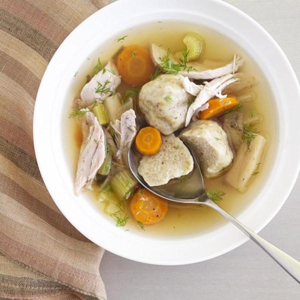 Receita de Sopa de Frango Judeu