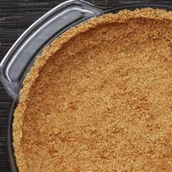 Receita mais saudável da crosta de biscoito graham