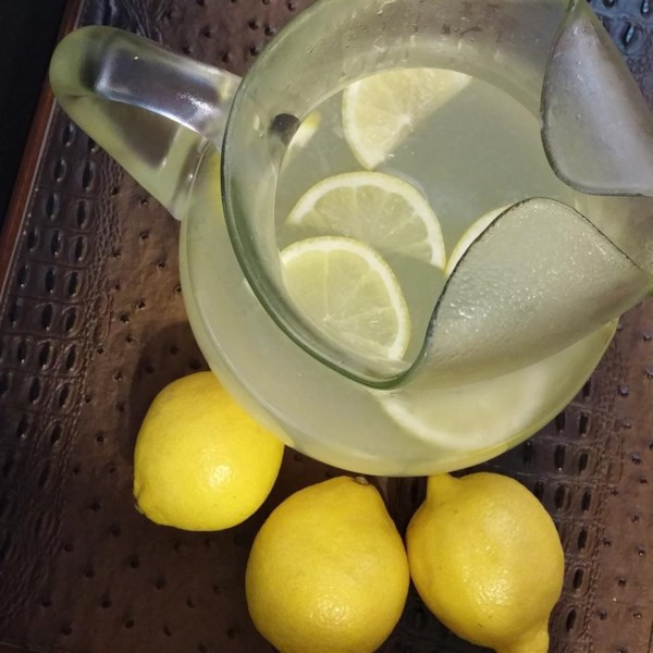 Melhor receita de limonada de todos os tempos