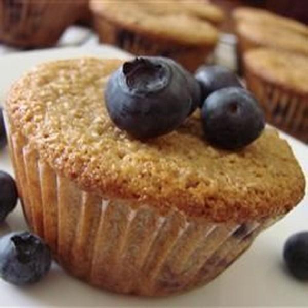 Receita de Muffin de Farelo de Laranja de Mirtilo