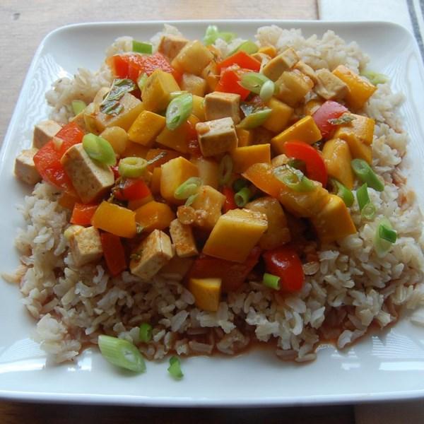 Receita de Tofu de Limão-Curry