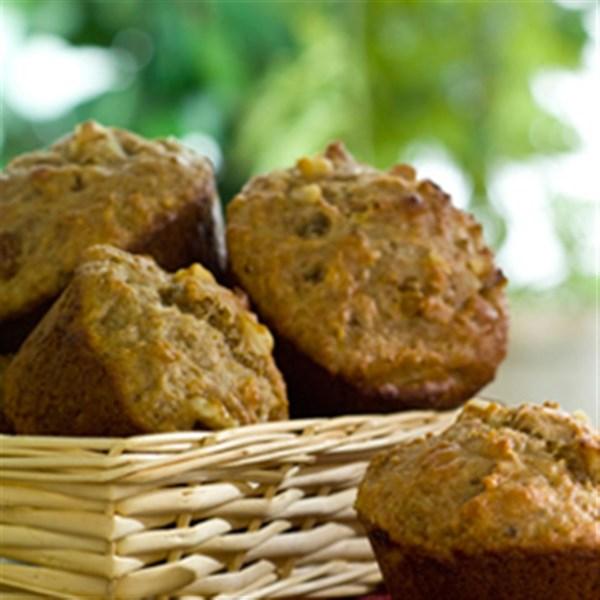 Receita de Muffins de Iogurte de Banana