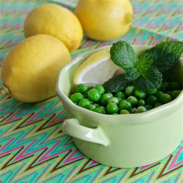 Receita de Salada de Ervilha de Limão