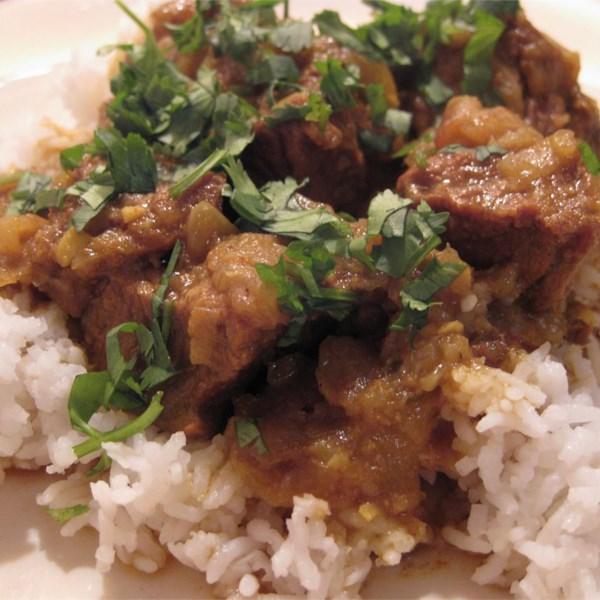 Receita autêntica de Curry de Carne de Bangladeshi