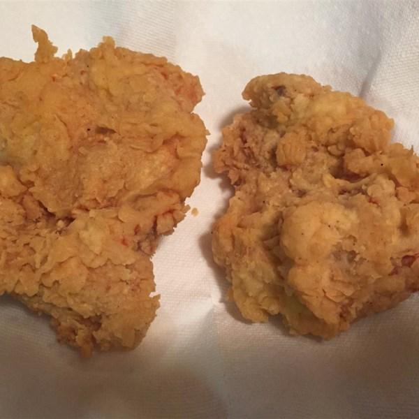 Receita de Frango Frito Triplo Mergulhado