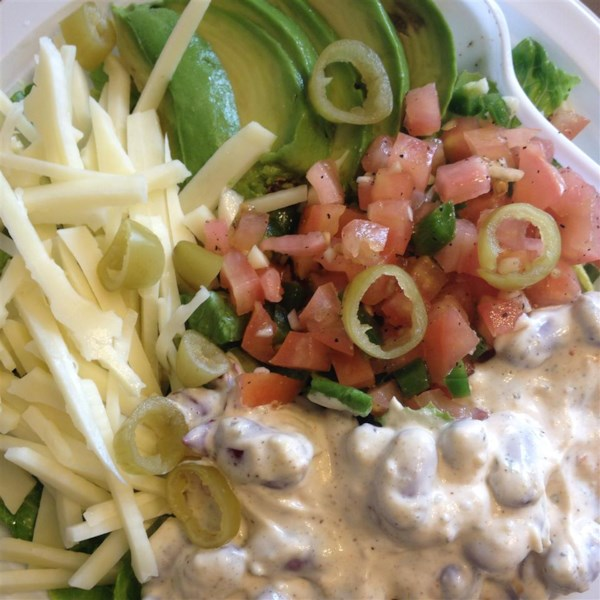 Receita de Salada de Fajita de Carne