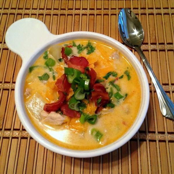 Receita de Sopa de Frango e Milho do Sudoeste