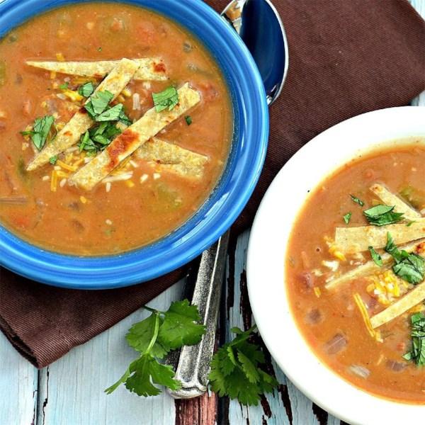 Receita de Sopa de Feijão Fiesta Refried