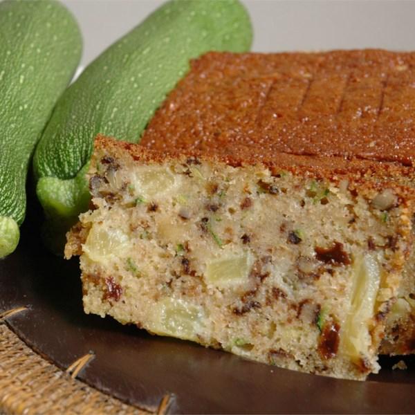Receita de Pão de Abacaxi de Abobrinha II