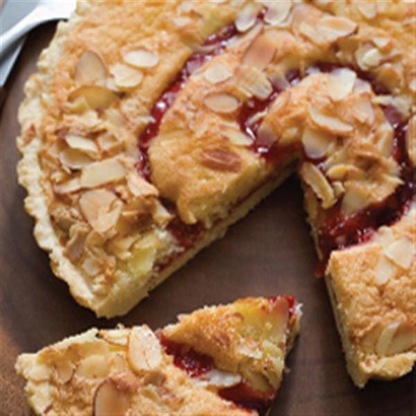 Streusel Topa ré Rtrudado de Torta de Pêra de Cranberry
