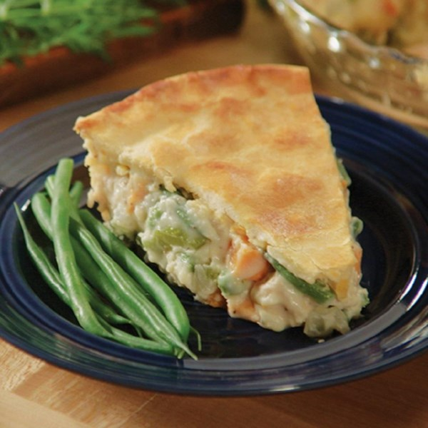 Love That Sobras De Peru Pot Pie Receita