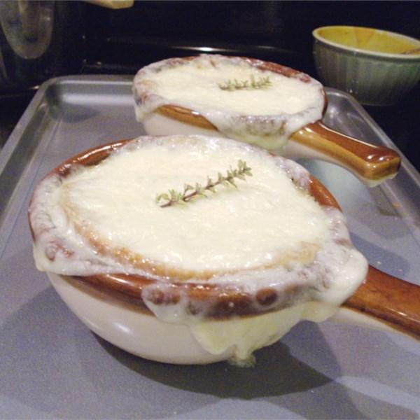 Receita de Sopa de Cebola Francesa III