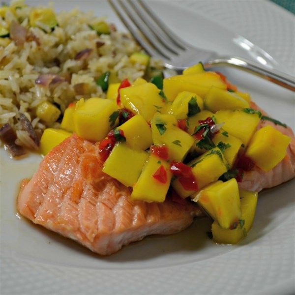 Chef John's Salmon Mango Bango Receita