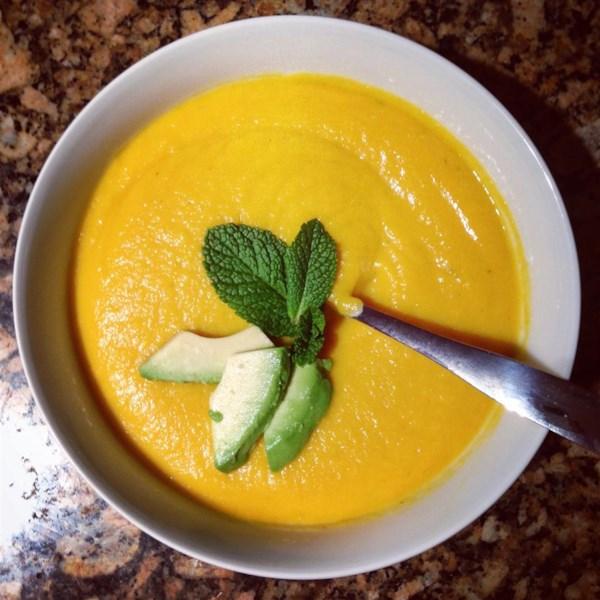 Receita de Sopa de Batata-Couve Vegana