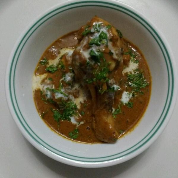 Receita de Frango de Manteiga de Estilo Indiano (Murgh Makhani)