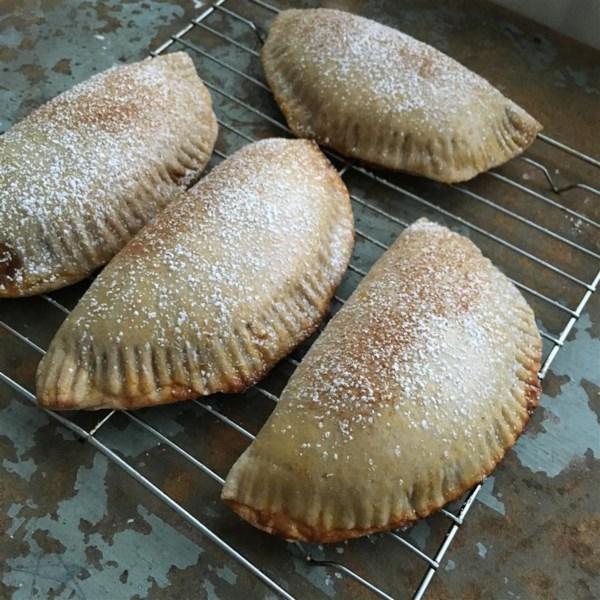 Receita mexicana de empanadas de abóbora