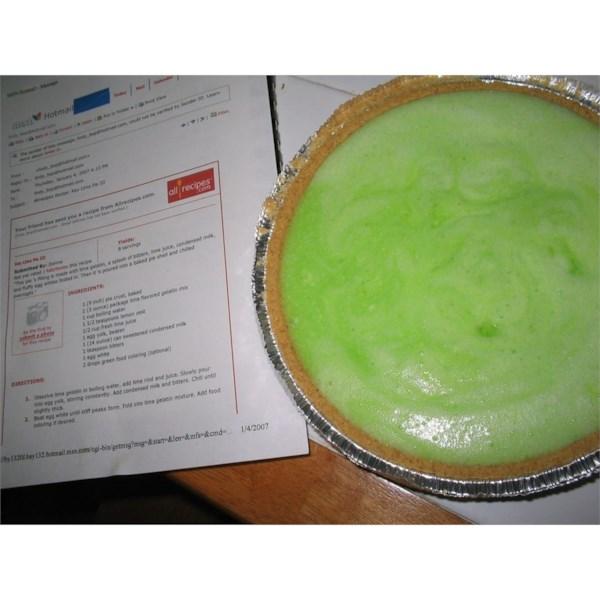 Receita de Torta de Limão-Chave III
