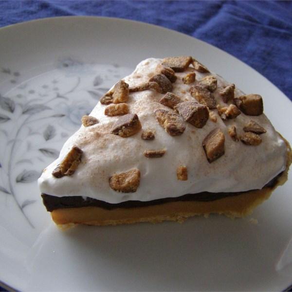 Receita de Torta de Manteiga de Amendoim de Chocolate