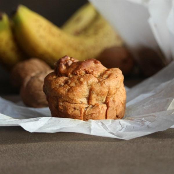 Receita de Muffins de Chia de Banana Sem Glúten