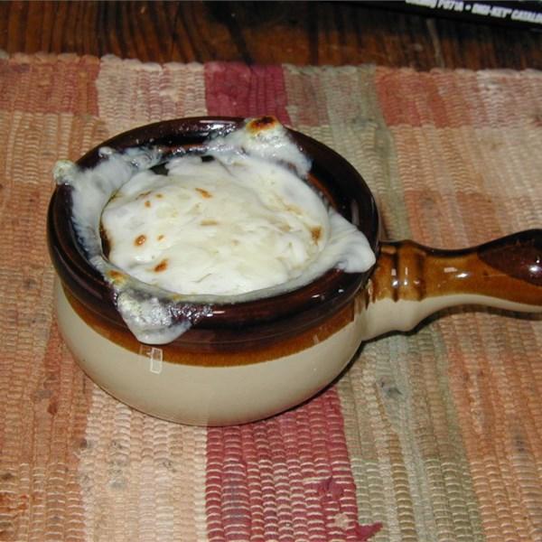 Receita de Sopa de Cebola Francesa V