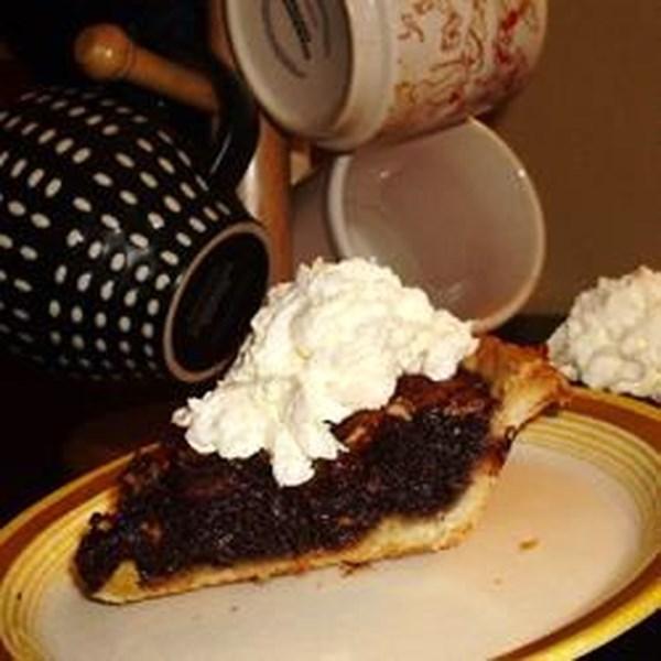 Receita de Torta de Nozes de Chocolate I