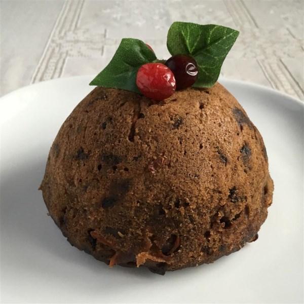 Receita de Pudim de Natal de Maçã e Cenoura