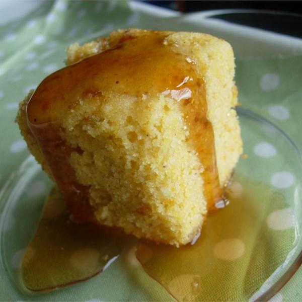 Receita de Pão de Milho Doce Dourado