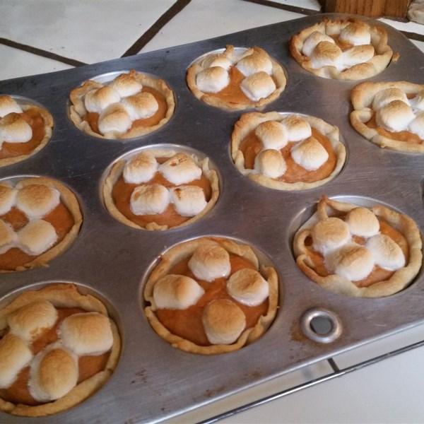Mini Receita de Tortas de Batata Doce